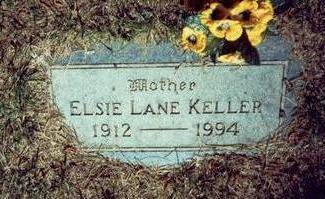 KELLER, ELSIE LANE - Pottawattamie County, Iowa | ELSIE LANE KELLER