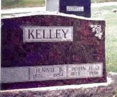 KELLEY, JENNIE B. - Pottawattamie County, Iowa | JENNIE B. KELLEY