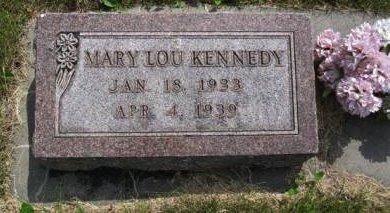 KENNEDY, MARY LOU - Pottawattamie County, Iowa   MARY LOU KENNEDY