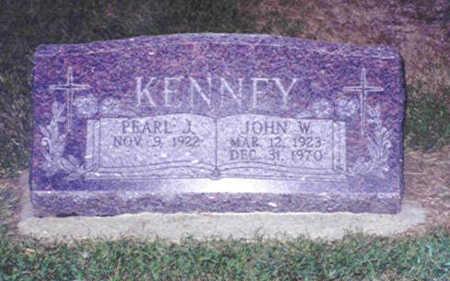 KENNEY, JOHN WILLIAM - Pottawattamie County, Iowa | JOHN WILLIAM KENNEY