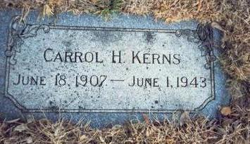 KERNS, CARROL H. - Pottawattamie County, Iowa | CARROL H. KERNS