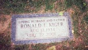 KIGER, RONALD L. - Pottawattamie County, Iowa | RONALD L. KIGER