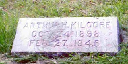KILGORE, ARTHUR HERMAN - Pottawattamie County, Iowa | ARTHUR HERMAN KILGORE