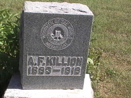 KILLION, ARCHIE FLOYD - Pottawattamie County, Iowa | ARCHIE FLOYD KILLION