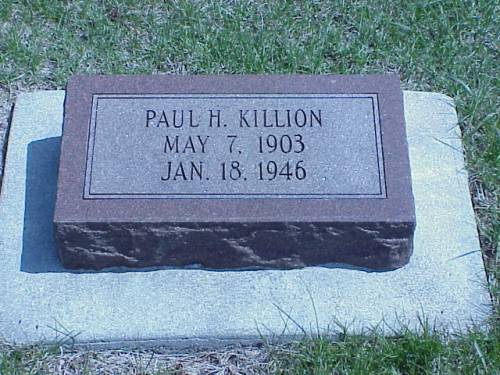 KILLION, PAUL H. - Pottawattamie County, Iowa | PAUL H. KILLION