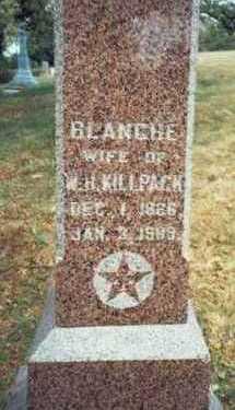 KILLPACK, BLANCHE - Pottawattamie County, Iowa | BLANCHE KILLPACK
