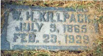 KILLPACK, WILLIAM H. - Pottawattamie County, Iowa | WILLIAM H. KILLPACK