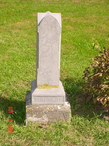 KINDHART, HEADSTONE - Pottawattamie County, Iowa | HEADSTONE KINDHART