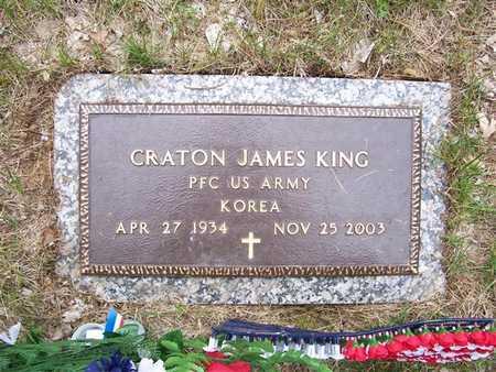 KING, CRATON JAMES - Pottawattamie County, Iowa | CRATON JAMES KING