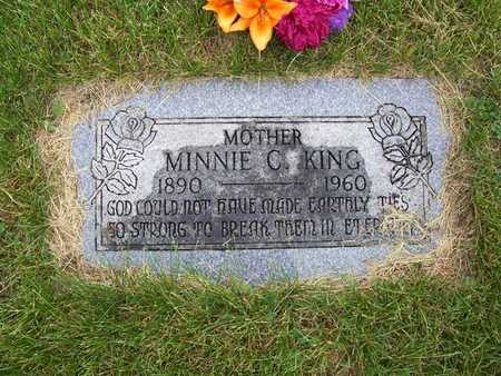 MYLER KING, MINNIE C. - Pottawattamie County, Iowa | MINNIE C. MYLER KING