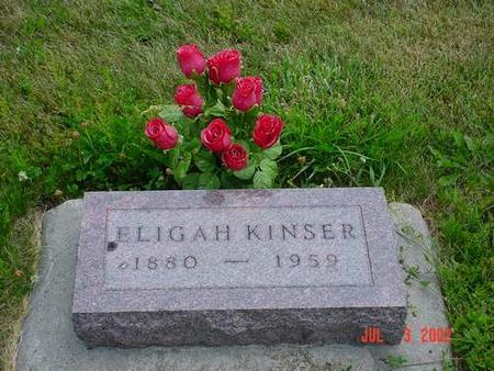 KINSER, ELIGAH - Pottawattamie County, Iowa | ELIGAH KINSER
