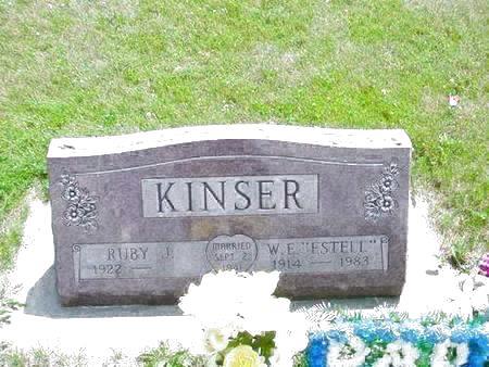 KINSER, RUBY J. - Pottawattamie County, Iowa | RUBY J. KINSER
