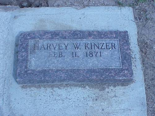 KINZER, HARVEY W. - Pottawattamie County, Iowa | HARVEY W. KINZER
