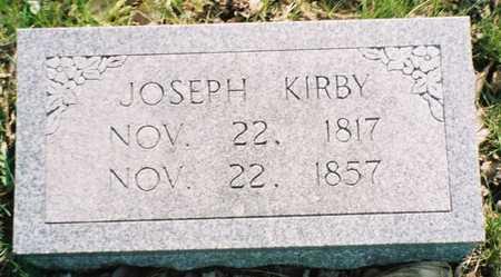 KIRBY, JOSEPH - Pottawattamie County, Iowa | JOSEPH KIRBY