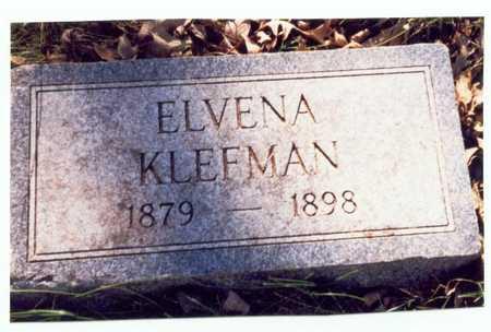 KLEFMAN, ELVENA - Pottawattamie County, Iowa | ELVENA KLEFMAN