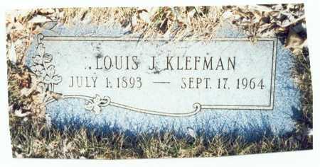 KLEFMAN, LOUIS JOHN - Pottawattamie County, Iowa | LOUIS JOHN KLEFMAN