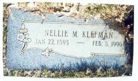 KLEFMAN, NELLIE MARGARET - Pottawattamie County, Iowa | NELLIE MARGARET KLEFMAN