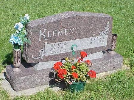 KLEMENT, DELORIS I. & HARRY R. - Pottawattamie County, Iowa | DELORIS I. & HARRY R. KLEMENT