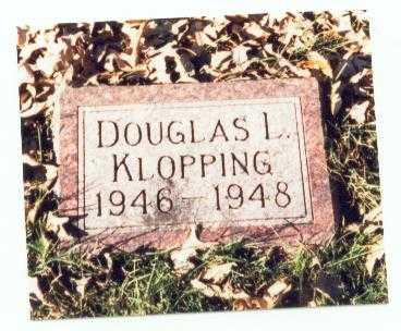 KLOPPING, DOUGLAS L. - Pottawattamie County, Iowa | DOUGLAS L. KLOPPING