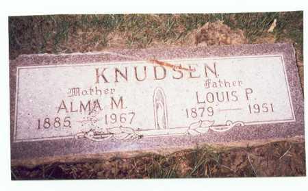 KNUDSEN, LOUIS P. - Pottawattamie County, Iowa   LOUIS P. KNUDSEN
