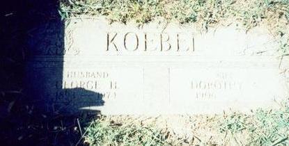 KOEBEL, GEORGE H - Pottawattamie County, Iowa | GEORGE H KOEBEL