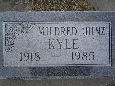 KYLE, MILDRED - Pottawattamie County, Iowa | MILDRED KYLE