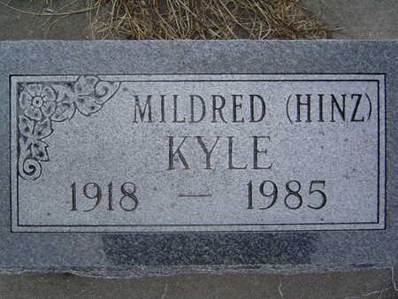 HINZ KYLE, MILDRED - Pottawattamie County, Iowa | MILDRED HINZ KYLE