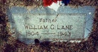 LANE, WILLIAM G. - Pottawattamie County, Iowa | WILLIAM G. LANE