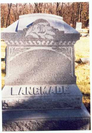 LANGMADE, ALDEN P. - Pottawattamie County, Iowa | ALDEN P. LANGMADE