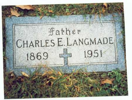 LANGMADE, CHARLES E. - Pottawattamie County, Iowa | CHARLES E. LANGMADE