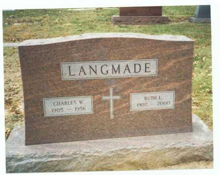 LANGMADE, RUTH L. - Pottawattamie County, Iowa | RUTH L. LANGMADE