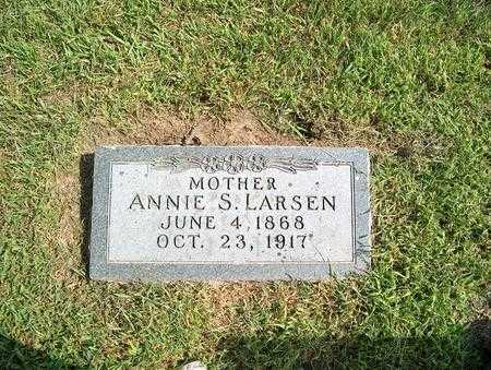 LARSEN, ANNIE S. - Pottawattamie County, Iowa | ANNIE S. LARSEN