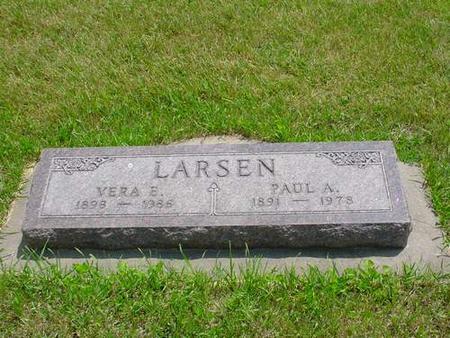 LARSEN, VERA E. - Pottawattamie County, Iowa | VERA E. LARSEN