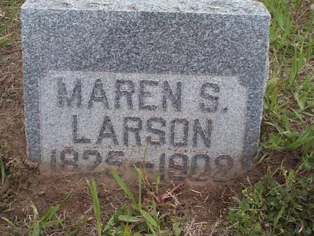 LARSON, MAREN S. - Pottawattamie County, Iowa | MAREN S. LARSON