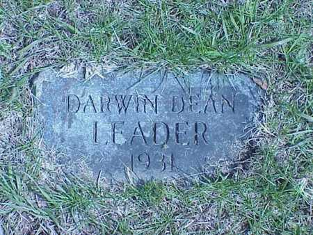 LEADER, DARWIN DEAN - Pottawattamie County, Iowa | DARWIN DEAN LEADER