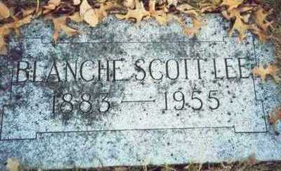 SCOTT LEE, BLANCHE - Pottawattamie County, Iowa | BLANCHE SCOTT LEE
