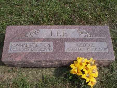LEE, GEORGE - Pottawattamie County, Iowa | GEORGE LEE
