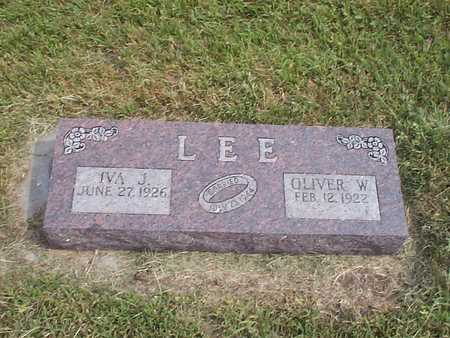 LEE, OLIVER W. - Pottawattamie County, Iowa | OLIVER W. LEE