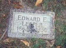 LEEPER, EDWARD E. - Pottawattamie County, Iowa | EDWARD E. LEEPER