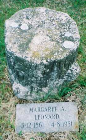 LEONARD, MARGARET A. - Pottawattamie County, Iowa | MARGARET A. LEONARD