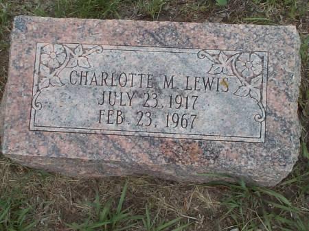 LEWIS, CHAROLETTE M. - Pottawattamie County, Iowa | CHAROLETTE M. LEWIS