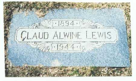LEWIS, CLAUD ALWINE - Pottawattamie County, Iowa | CLAUD ALWINE LEWIS
