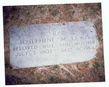 LEWIS, JOSEPHINE M. - Pottawattamie County, Iowa | JOSEPHINE M. LEWIS