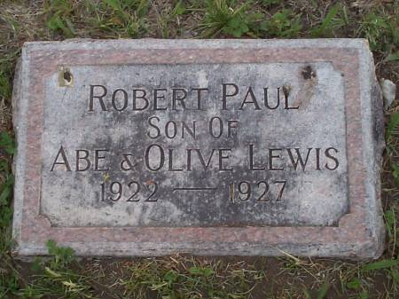 LEWIS, ROBERT PAUL - Pottawattamie County, Iowa | ROBERT PAUL LEWIS