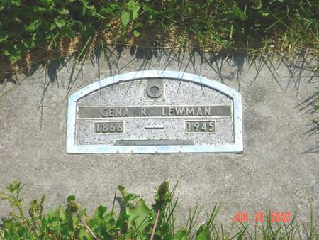 LEWMAN, CENA R. - Pottawattamie County, Iowa | CENA R. LEWMAN