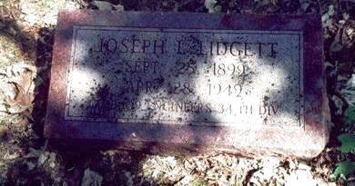 LIDGETT, JOSEPH LESTER - Pottawattamie County, Iowa | JOSEPH LESTER LIDGETT