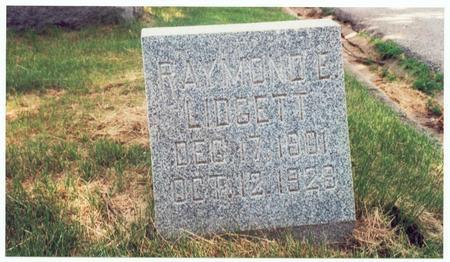 LIDGETT, RAYMOND E. - Pottawattamie County, Iowa | RAYMOND E. LIDGETT