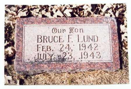 LUND, BRUCE FRANKLIN - Pottawattamie County, Iowa | BRUCE FRANKLIN LUND