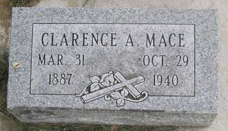 MACE, CLARENCE A. - Pottawattamie County, Iowa | CLARENCE A. MACE