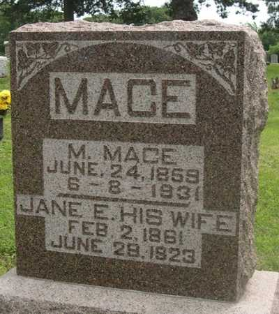 MACE, M. - Pottawattamie County, Iowa | M. MACE